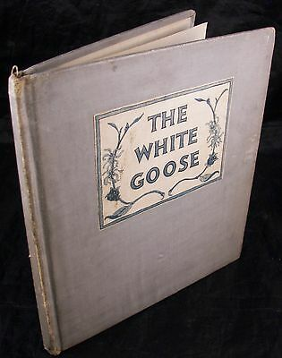 The White Goose written & illustrated by Tasha Tudor 1943 First Edition book