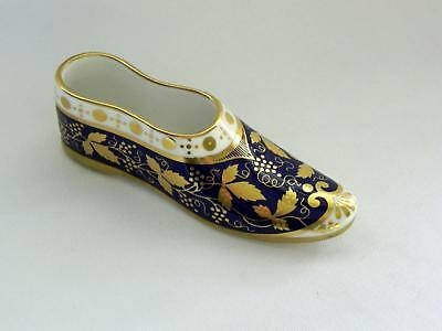 SPODE Miniature Shoe *EASTERN SLIPPER* with COA - Excellent