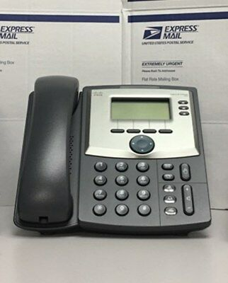 Cisco SPA303 -3 Line IP Phone with Base & NO Power Adapter & NO Handset Cord