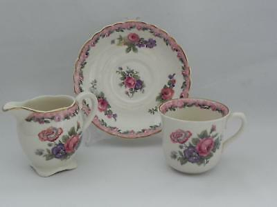 CLARICE CLIFF - Royal Staffordshire  DUO and MILK JUG - **Nancy Pattern** Excl.