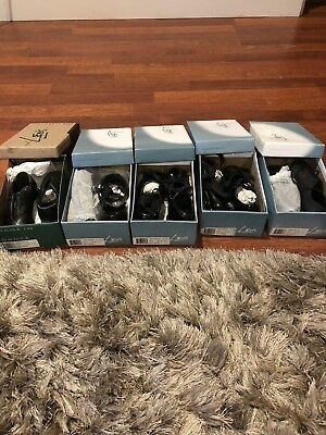 5 Brand New Leo's Tap Shoes Size 9, 10, 10.5, 10.5, And 11