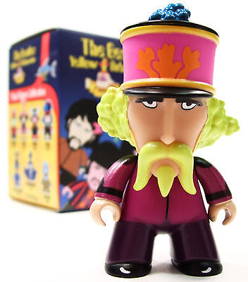 "Titans THE BEATLES YELLOW SUBMARINE Mini Series GEORGE HARRISON 3"" Vinyl Figure"