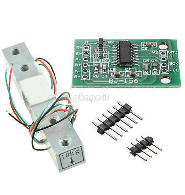 10KG Scale Load Cell Weight Weighing Sensor HX711 Weighing Sensors AD Module F