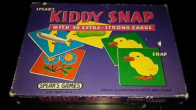 Vintage 1970 KIDDY SNAP Matching Pairs Game by Spear's Games