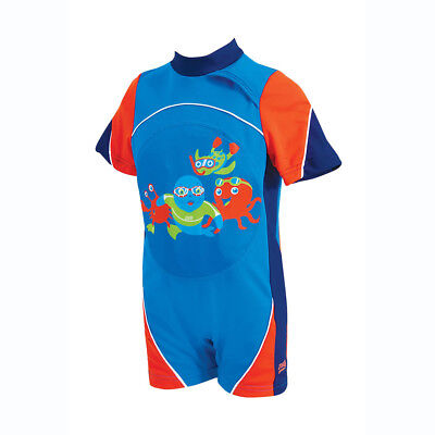 Zoggs Kids Swimfree Floatsuit Blue / Red for 1-2 Years Children up to 11 - 15 kg