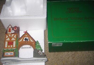 Dept 56 Heritage Collection Dickens' Village Series Postern 10 Year Anniversary