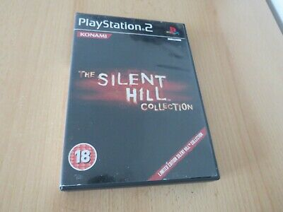 The Silent Hill 2, 3 & 4, Collection Sony PlayStation 2 PS2 PAL VERSION