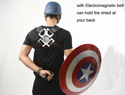 CATTOYS Captain America 1:1 ABS Shield with WEARABLE Electromagnetic Belt COOL