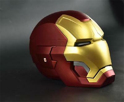 [Remote Metal Version] CATTOYS 1/1 All Metal Made Iron Man MK42 Helmet AVENGERS