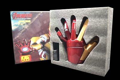 CATTOYS 1/1 Armor Hand Iron Man MK42 Gloves Wearable Two Hands Tony Stark