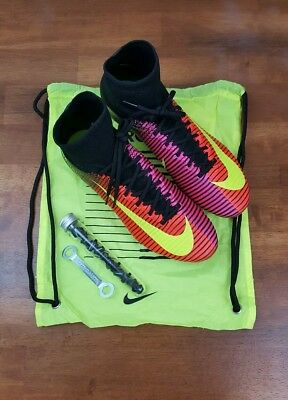 09e74dd828f0 NIKE MERCURIAL SUPERFLY V SG-PRO SOCCER CLEATS CRIMSON BLACK 831956-870 Sz  11