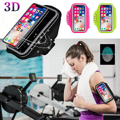 3D Sport Jogging Running Armband Gym Pouch Holder Bag Case Cover For Cell Phone