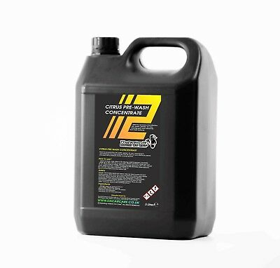 Citrus Pre wash Concentrate 5L makes up to 50 litres by Detailing Addicts