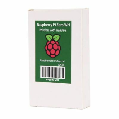 New 2018 Raspberry Pi Zero WH - with Pre-Soldered Headers Fast Shipping