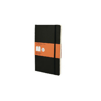 Moleskine Classic Notebook Ruled Large Hard Cover Black QP060