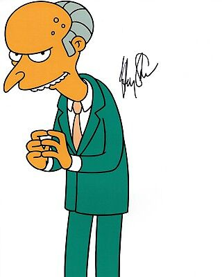 Harry SHEARER Signed Mr BURNS Autograph 10x8 Photo 3 AFTAL COA The Simpsons