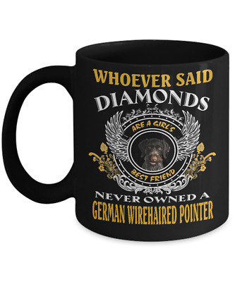 German Wirehaired Pointer dog,Deutsch Drahthaar,Deutscher Drahthaarig,Coffee Mug