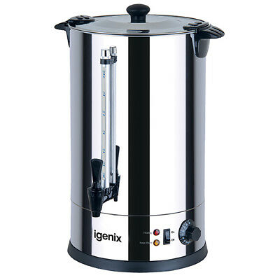 Igenix IG4030 Catering Urn & Hot Water Boiler, 30L