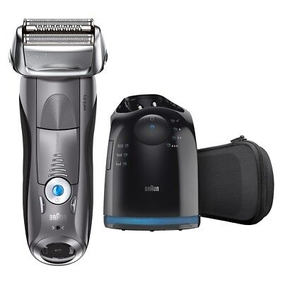 Brand New Braun Series 7 7865Cc Wet And Dry Men's Electric Foil Shaver Grey