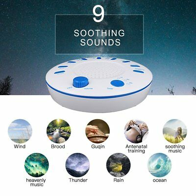 Sound Spa Relax Machine White Noise Baby Easy Sleep Nature Night Peace Therapy E