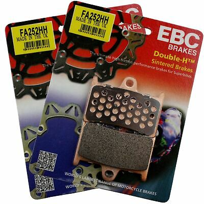 EBC FA252HH Sintered Motorcycle Brake Pads Set X2