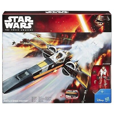 STAR WARS THE FORCE AWAKENS Poes X-Wing Fighter'And Poe Dameron