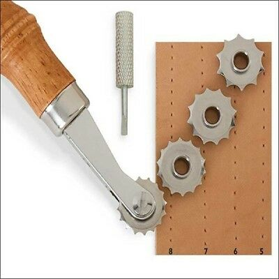 Leather Craftool Spacer Set System with 3 Wheels 5, 6 and 7 #8091-00 DIY Tools