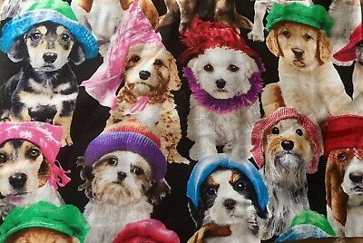 Dogs With Hats Microwave HEAT Or & COLD Wheat Heat Pack 100% Cotton