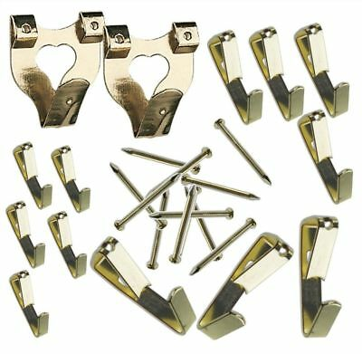 Picture Hanging Kit - 87 Pieces Hooks nails wire