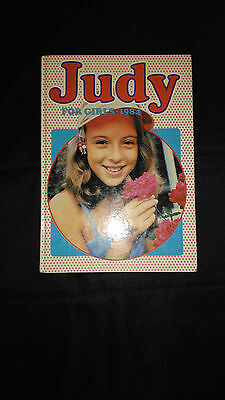 Judy For Girls Vintage Comic Book 1984