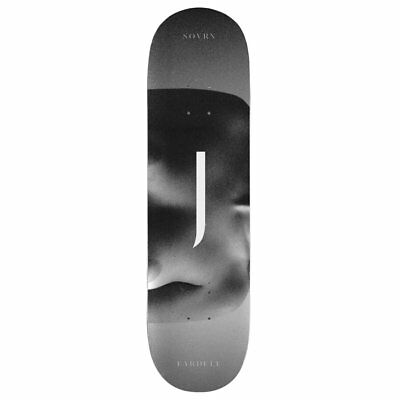 Sovrn Clay Fardell 8.5 Inch Unisex Skateboard Part Deck - Black All Sizes