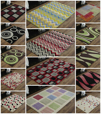 Small Traditional Modern Floral Multi Soft Alpha Budget Cheap Clearance Rugs