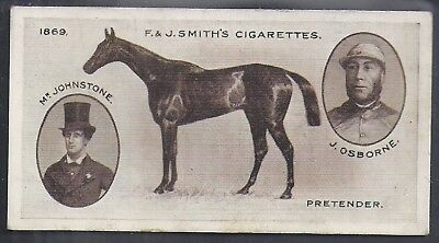 Smiths-Derby Winners-#06- Horse Racing - Pretender
