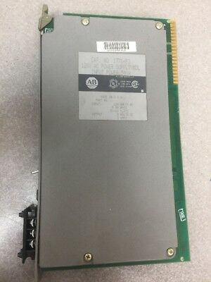 Allen Bradley 1771-P3 AC Power Supply Module 120VAC tested and verified