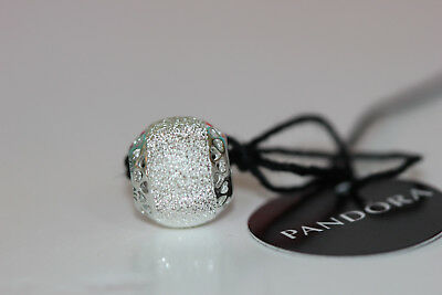 8ae7a8cd4 Authentic New Pandora Glittering Hearts Charm 792097 W/Tags & Gift Box S925  Ale