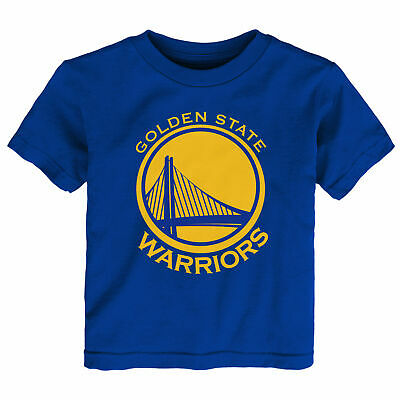 NBA Golden State Warriors Primary Logo T Shirt Top Toddler Infant & Baby