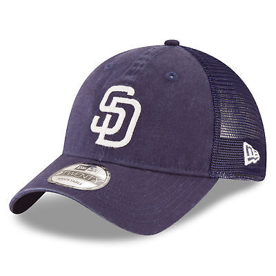 MLB San Diego Padres New Era Central Team Trucker 9TWENTY Cap Unisex