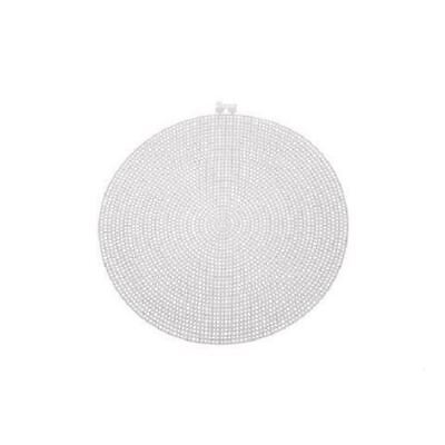 Darice Large Plastic Canvas Circle - 7 Count - 9.5in (24.1cm)
