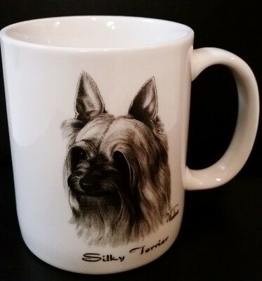 ROSALINDE Silky Terrier Coffee Mug 10 ounce Made in USA