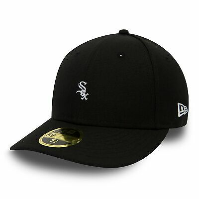 MLB Chicago White Sox New Era Mini Logo Low Profile 59FIFTY Fitted Cap Hat