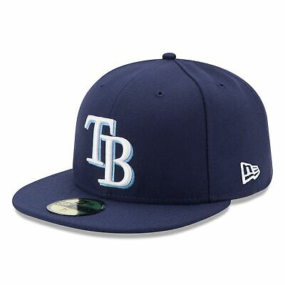 MLB Tampa Bay Rays New Era Authentic On Field 59FIFTY Fitted Cap Hat Headwear