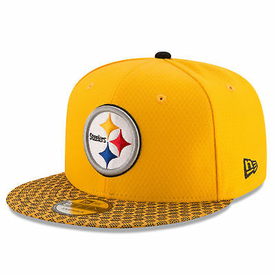 NFL Pittsburgh Steelers Official 2017 On Field 9FIFTY Snapback Cap Unisex
