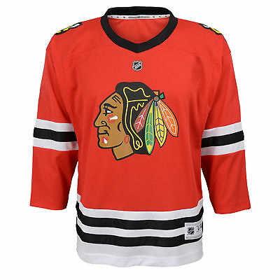 NHL Chicago Blackhawks Home Jersey Shirt Top Toddler Infant & Baby