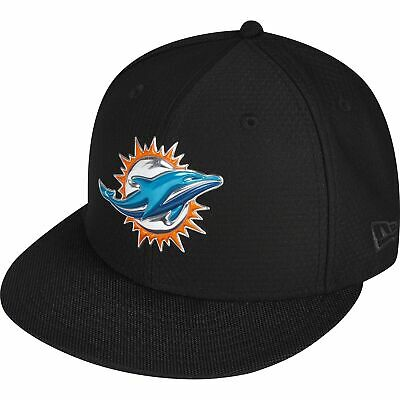 NFL Miami Dolphins London Games 2017 New Era Black Collection 59FIFTY Fitted Cap