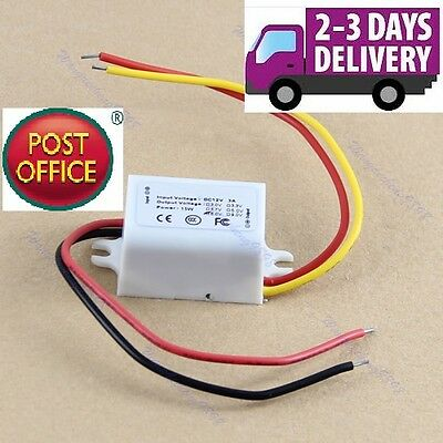 New Waterproof DC Converter 12V Step Down to 6V 3A 15W Power Supply Module