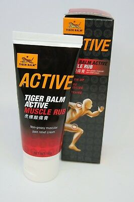 Tiger Balm Active Muscle Rub Non Greasy Muscular Pain Relief Cream 60 grams