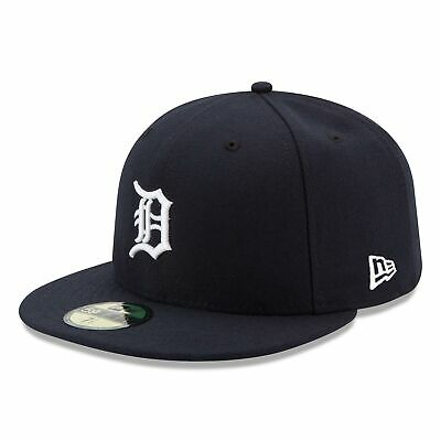 MLB Detroit Tigers New Era Authentic On Field 59FIFTY Fitted Cap Hat Headwear