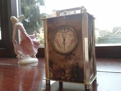 Exclusif mechanical carriage clock