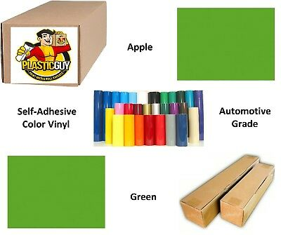"""24"""" x 55yd Apple Green Oracal 651 Graphic Sign Cut Vinyl (Private Label)"""