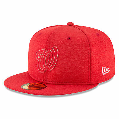 MLB Washington Nationals New Era 2018 Clubhouse 59FIFTY Fitted Cap Hat Headwear